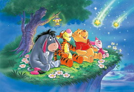 TEN-DK96-030 ディズニー きらきらお星さま(くまのプーさん) 96ピース 子供用パズル パズル Puzzle 子供用 幼児 知育玩具 知育パズル 知育 ギフト 誕生日 プレゼント 誕生日プレゼント