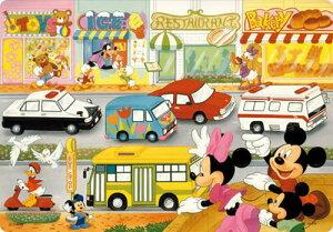 TEN-DC60-015 ディズニー のりものだいすき 60ピース チャイルドパズル パズル Puzzle 子供用 幼児 知育玩具 知育パズル 知育 ギフト 誕生日 プレゼント 誕生日プレゼント