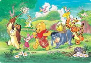 TEN-DC60-016 ディズニー ゆかいなおんがくたい(シルエット) プーさん 60ピース チャイルドパズル パズル Puzzle 子供用 幼児 知育玩具 知育パズル 知育 ギフト 誕生日 プレゼント 誕生日