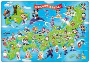 TEN-DC60-059 ディズニー ミッキーと日本地...