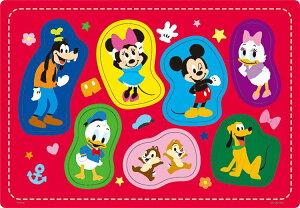 TEN-DC07-131 ディズニー だいすきな なかまたち(ミッキー&フレンズ) 7ピース チャイルドパズル パズル Puzzle 子供用 幼児 知育玩具 知育パズル 知育 ギフト 誕生日 プレゼント 誕生日プ