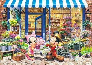TEN-D300-258 ディズニー ミニーのフラワーショップ(ミッキー) 300ピース ジグソーパズル