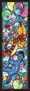 TEN-DSG456-722 ディズニー くまのプーさん ステンドグラス 456ピース ステンドアートジグソーパズル パズル Puzzle ステンド ステンドアート ギフト 誕生日 プレゼント 誕生日プレゼント