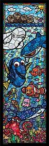 TEN-DSG456-731 ディズニー ファインディング・ドリー 456ピース ステンドアートジグソーパズル パズル Puzzle ステンド ステンドアート ギフト 誕生日 プレゼント 誕生日プレゼント