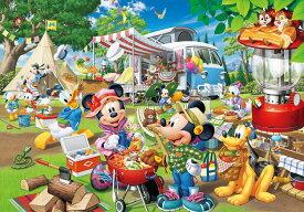 TEN-D1000-026 ディズニー みんなでオートキャンプ!(ミッキー) 1000ピース ジグソーパズル パズル Puzzle ギフト 誕生日 プレゼント 誕生日プレゼント