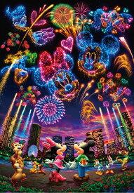TEN-D1000-032 ディズニー 花火に想いをのせて・・・(ミッキー・ミニー) 1000ピース ジグソーパズル テンヨー パズル Puzzle ギフト 誕生日 プレゼント 誕生日プレゼント