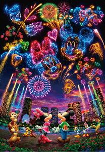 TEN-D1000-032 ディズニー 花火に想いをのせて・・・(ミッキー・ミニー) 1000ピース ジグソーパズル パズル Puzzle ギフト 誕生日 プレゼント 誕生日プレゼント