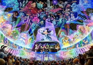 TEN-D2000-604 ディズニー ディズニー ウォーター ドリーム コンサート(ミッキー) 2000ピース ジグソーパズル