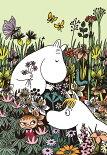 YAM-03-874ムーミンお花畑のムーミン300ピースの画像