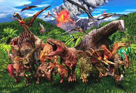 BEV-L74-175 服部 雅人 大恐竜ワールド 150ラージピース ジグソーパズル パズル Puzzle ギフト 誕生日 プレゼント