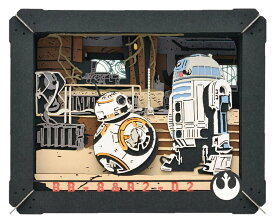 ENS-PT-110 ペーパーシアター BB-8 & R2-D2 (スターウォーズ ) 雑貨