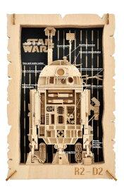 ENS-PT-WL04 ペーパーシアター-ウッドスタイル- R2-D2 (スターウォーズ) 雑貨 雑貨 PAPER THEATER ペーパー シアター ギフト 誕生日 プレゼント 誕生日プレゼント クラフト ホビー