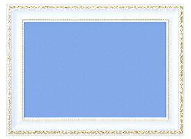 BEV-00441 木製豪華フレーム アンティークホワイト 3 / No.23 26×38cm パネル・フレーム 【ラッピング対象外】