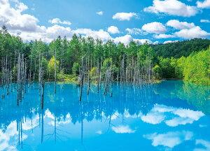 APP-500-263 風景 美瑛白金(びえいしろがね)の青い池 500ピース ジグソーパズル アップルワン [CP-T] パズル Puzzle ギフト 誕生日 プレゼント 誕生日プレゼント