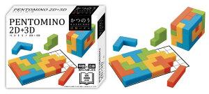 HAN-06805 かつのう ペントミノ 2D+3D パズルゲーム パズル Puzzle ギフト 誕生日 プレゼント