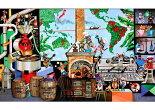 APP-500-264藤城清治ラ・ビーコーヒー人生のルーツ500ピース●予約ジグソーパズルパズルPuzzleギフト誕生日プレゼント誕生日プレゼント