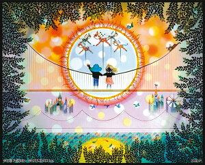 APP-5080-303 藤城清治 日輪(にちりん) 80ピース ジグソーパズル パズル 透明パズル Puzzle ギフト 誕生日 プレゼント 誕生日プレゼント