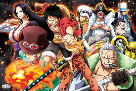 ENS-1000-582 ワンピース 劇場版「ONE PIECE STAMPEDE」 大戦炎上 1000ピース ジグソーパズル [CP-O] パズル Puzzle ギフト 誕生日 プレゼント