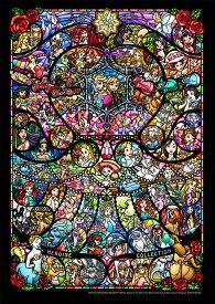 TEN-DPG266-576 ディズニー&ディズニー / ピクサーヒロインコレクション ステンドグラス 266ピース ジグソーパズル