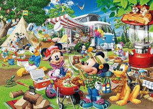 TEN-D300-013 ディズニー みんなでオートキャンプ!(ミッキー) 300ピース ジグソーパズル パズル Puzzle ギフト 誕生日 プレゼント