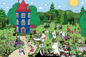 YAM-10-1348 ムーミン ムーミンハウスへようこそ! 1000ピース ジグソーパズル パズル Puzzle ギフト 誕生日 プレゼント