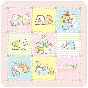 APO-09-423 すみっコぐらし やわらかパズルマット パズルマット パズル Puzzle 子供用 幼児 男の子 女の子 知育玩具 知育パズル 知育 ギフト 誕生日 プレゼント 誕生日プレゼント