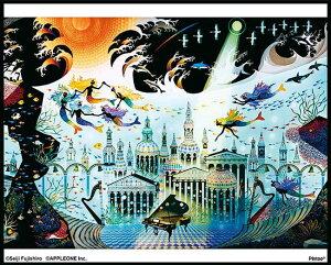 APP-5080-305 藤城清治 光る海 80ピース ジグソーパズル パズル 透明パズル Puzzle ギフト 誕生日 プレゼント 誕生日プレゼント