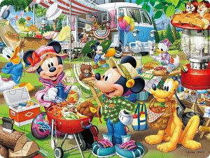 TEN-DL63-699 ディズニー みんなでオートキャンプ! (ミッキー&フレンズ) 63ピース 子供用パズル パズル Puzzle 子供用 幼児 知育玩具 知育パズル 知育 ギフト 誕生日 プレゼント 誕生日プレ