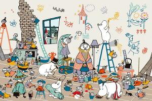 YAM-10-1379 ムーミン 家をたてよう 1000ピース ジグソーパズル パズル Puzzle ギフト 誕生日 プレゼント
