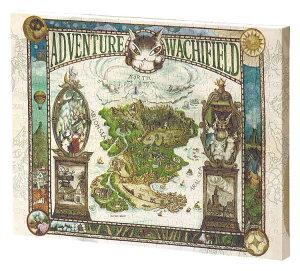 YAM-2305-01 わちふぃーるど わちふぃーるどの冒険地図 366ピース ジグソーパズル パズル Puzzle ギフト 誕生日 プレゼント