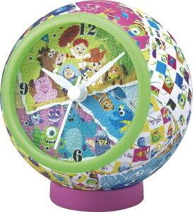 YAM-2401-09 ディズニー パズルクロック ピクサー・アート (オールキャラクター) 145ピース 球体パズル パズル Puzzle ギフト 誕生日 プレゼント