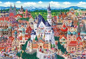 BEV-M81-622 田中直樹 ドイツ名所大集合! 1000ピース ジグソーパズル ビバリー パズル Puzzle ギフト 誕生日 プレゼント