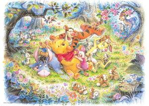 TEN-D500-421 ディズニー なんとなく しあわせ(くまのプーさん) 500ピース ジグソーパズル パズル Puzzle ギフト 誕生日 プレゼント 誕生日プレゼント