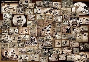 TEN-D1000-398 ディズニー ミッキーマウス モノクロ映画コレクション(ミッキー&フレンズ) 1000ピース ジグソーパズル