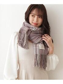 [Rakuten Fashion]チェックストール JILL by JILLSTUART ジル バイ ジルスチュアート ファッショングッズ スカーフ/バンダナ グレー ホワイト【送料無料】