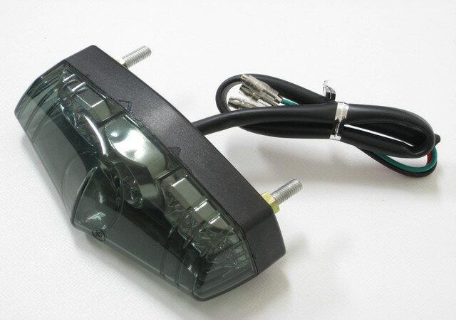 テールランプ LED ルーカスタイプ スモーク モンキー エイプ リトルカブ ズーマー FTR223 GB250 クラブマン SR400 ビラーゴ ドラッグスター TW225 ボルティ グラストラッカー エストレア カフェレーサー チョッパー フリスコ ボバー カスタム