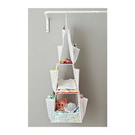 【NEW】【便利なクローゼット収納★】IKEA(イケア)PLURINGハンギング収納ハンガー付き 3段