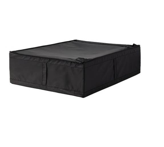 【便利なベッド下収納★】IKEA(イケア)SKUBB スクッブ 収納ケース ブラック 69x55x19