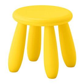 【7/17(金)より順次発送】IKEA(イケア)MAMMUT 子供用 スツール イエロー子供用スツール 室内 屋外用