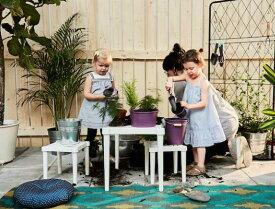 【人気商品】IKEA(イケア)UTTER 子供用 テーブル室内 屋外用 ホワイト