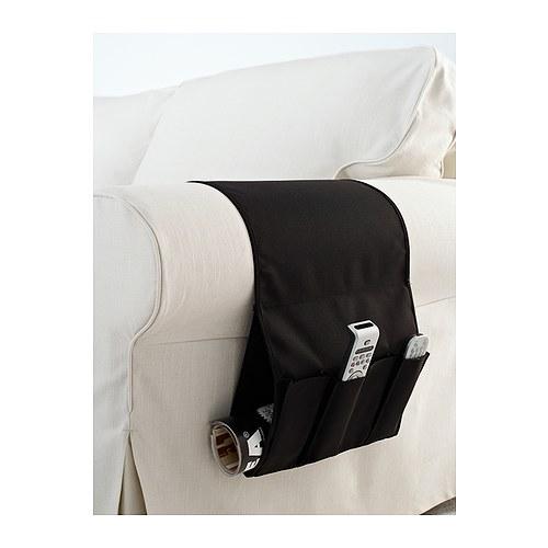 【メール便送料込】IKEA(イケア)FLORT リモコンポケット BLACK