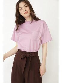 【SALE/60%OFF】ポケットTシャツ JILLSTUART ジルスチュアート カットソー カットソーその他 パープル イエロー【RBA_E】[Rakuten Fashion]