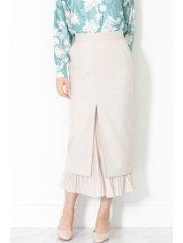 【SALE/60%OFF】プリーツミックスタイトスカート JILLSTUART ジルスチュアート スカート スカートその他 ベージュ【RBA_E】【送料無料】[Rakuten Fashion]