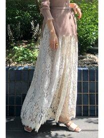 【SALE/66%OFF】◆サリーリネンレーススカート JILLSTUART ジルスチュアート スカート スカートその他 ベージュ ブラウン【RBA_E】【送料無料】[Rakuten Fashion]