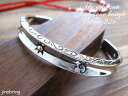 ゴールド サンマーク ネイティブ アラベスク・シルバーバングル シルバー シルバーバングル メンズバングル ブレスレット