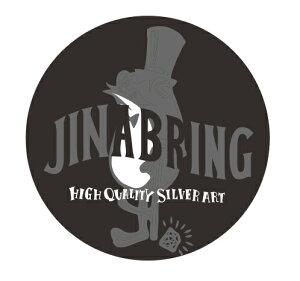 送料無料 丸型 ステッカー【JINA BRING】オシャレ カエル♪オリジナルステッカー貼って下さい☆直径約51mm ジナブリング