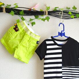 2A 半パン カラー2色(ネオンカラー・ホワイト) ズボン パンツ 半パン 短パン 男の子 女の子 男女兼用 夏パンツ カラーパンツ