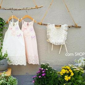 cornshop ワンピTシャツ 丈長めのトップス トップス ノースリーブ ワンピTシャツ 女の子 キッズ ワンピース 可愛い ガ—リー 出産祝い お祝い 韓国子供服