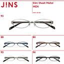 【SALE】【Slim Sheet Metal】スリムシートメタル- JINS ( ジンズ メガネ めがね 眼鏡 )