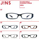 【SALE】【Combination Acetate&Metal】コンビネーション アセテート&メタル-JINS ( ジンズ )